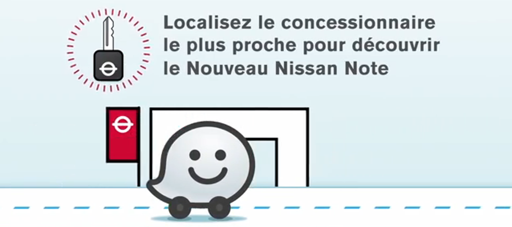 Mobile to Store / Nissan Waze